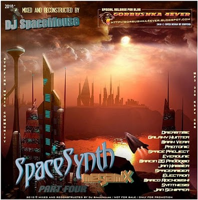 DJ SpaceMouse - SpaceSynth Megamix - volume 04