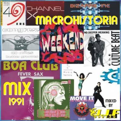 DJ J.J.F. - Macrohistoria Mix 1991