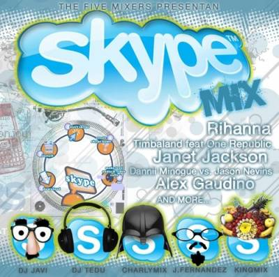The 5 Mixers Team - Skype Mix 01
