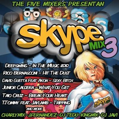 The 5 Mixers Team - Skype Mix 3