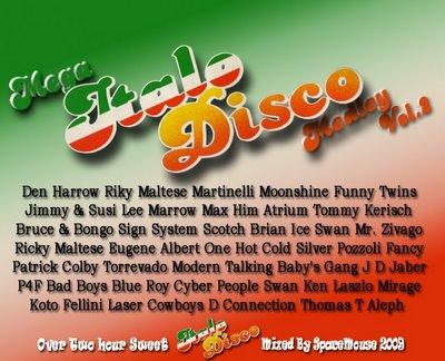 DJ SpaceMouse - Mega Italo Disco Medley - II