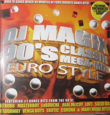 DJ Magix - Classix 90s Eurostyle Megamix