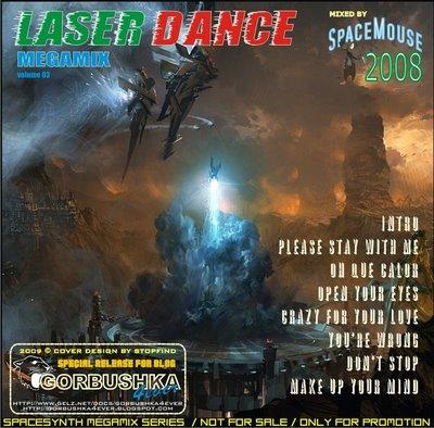 DJ SpaceMouse - LaserDance Megamix - vol 03