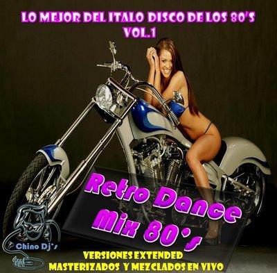 DJ Chino - Lo Mejor Del Italo Disco De Los 80s