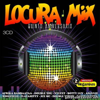 Locura Mix vol 05 [2010] / 3xCD
