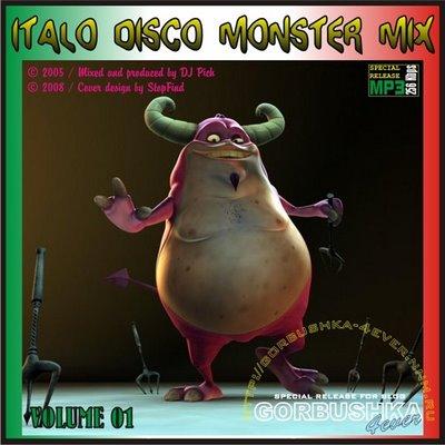 DJ Pich - Italo Disco Monster Mix - volume 01