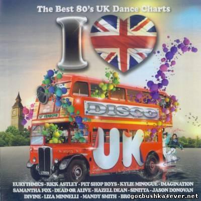 I Love Disco UK 80s [2012] / 2xCD