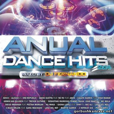Anual Dance Mix 2K14 [2013] Mixed by DJ Fernando / 2xCD