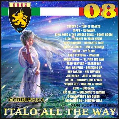 DJ Chez - Italo All The Way Mix vol 08