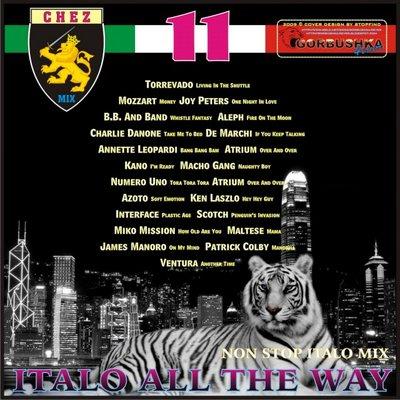 DJ Chez - Italo All The Way Mix vol 11