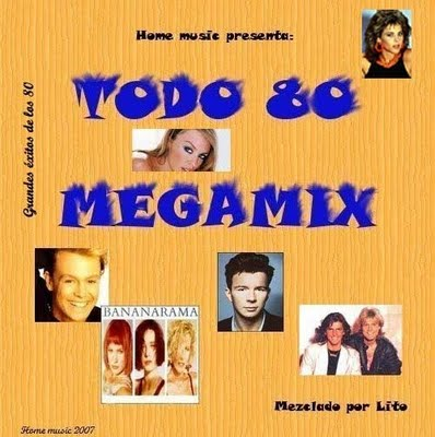 DJ Lito - Todo 80 MegaMix 01
