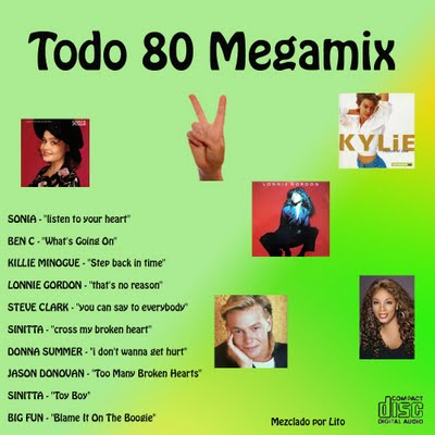 DJ Lito - Todo 80 MegaMix 02
