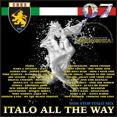 DJ Chez - Italo All The Way Mix vol 07
