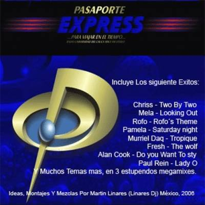 DJ Linares - Pasaporte Express Mix