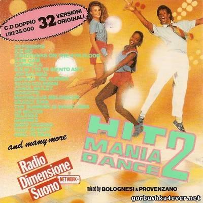 Hit Mania Dance 2 [1994] Mixed by Paolo Bolognesi & Provenzano DJ / 2xCD