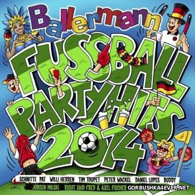 Ballermann Fussball Partyhits [2014] / 2xCD