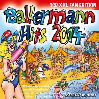 Ballermann Hits 2014 - XXL Fan Edition [2014] / 3xCD