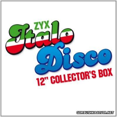 ZYX Italo Disco 12'' Collector's Box [2014] / 2xCD