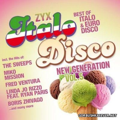 ZYX Italo Disco - New Generation vol 5 [2014] / 2xCD