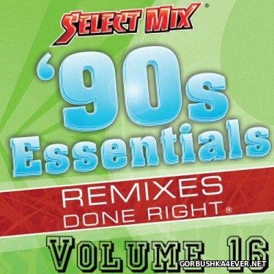 [Select Mix] 90s Essentials vol 16 [2014]