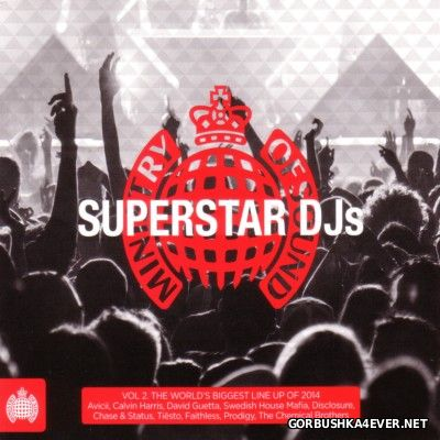 [Ministry Of Sound] Superstar DJs vol 2 [2014] / 3xCD
