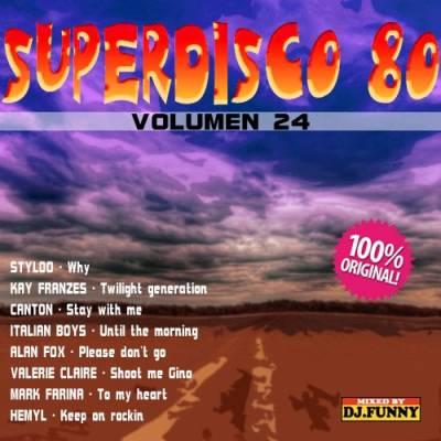 DJ Funny - SuperDisco 80 Volume 24