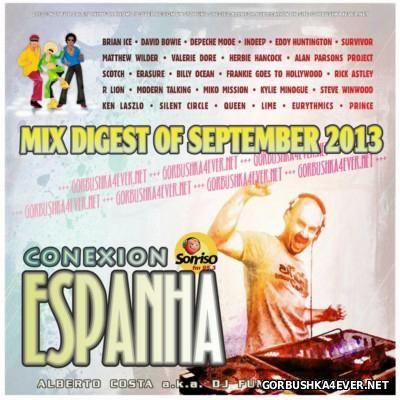 DJ Funny - Conexion Espanha Mix [2013] Mix Digest Of September
