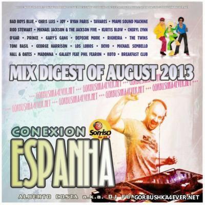 DJ Funny - Conexion Espanha Mix [2013] Mix Digest Of August
