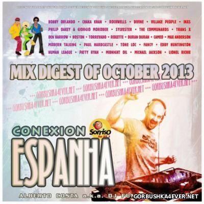 DJ Funny - Conexion Espanha Mix [2013] Mix Digest Of October