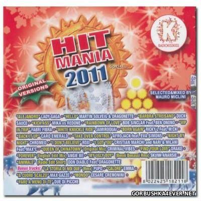 Hit Mania 2011 [2010] Mixed by Mauro Miclini