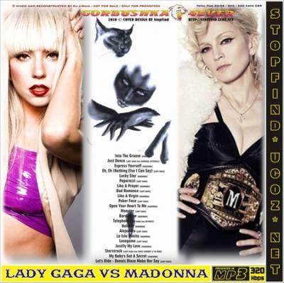DJ J-Rome - Lady Gaga vs Madonna Revisited Mix (2010)
