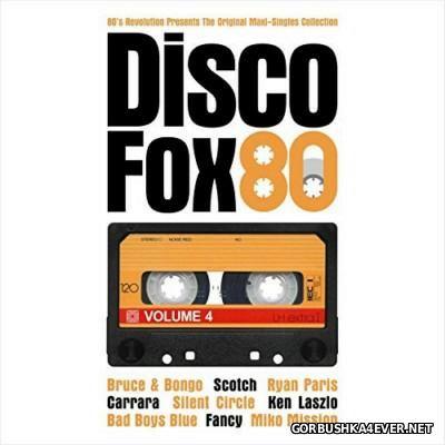80s Revolution presents Disco Fox 80 - The Original Maxi-Singles Collection vol 4 [2015]