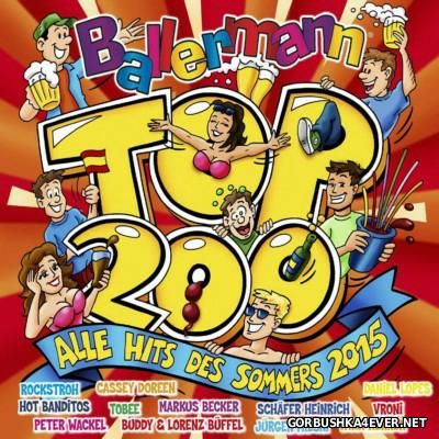 Ballermann Top 200 - Alle Hits Des Sommers 2015 / 3xCD / Mixed by DJ Deep