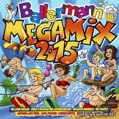 Ballermann Megamix 2015 [2015] / 2xCD / Mixed by DJ Deep