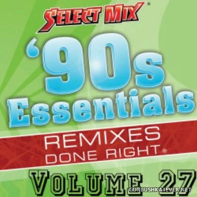 [Select Mix] 90s Essentials vol 27 [2015]