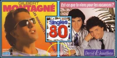 Singles 80 - Gilbert Montagne / David & Jonathan