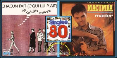 Singles 80 - Jean-Pierre Mader / Chagrin D'Amour