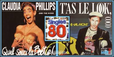 Singles 80 - Laroche Valmont / Claudia Phillips & The Kicks