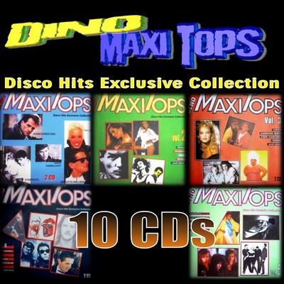 Dino Maxi Tops [Disco Hits Exclusive Collection] volume 01-05 / 10xCD