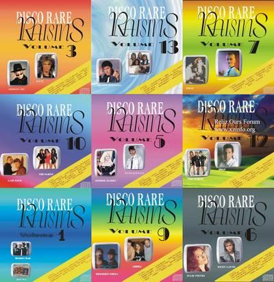 Disco Rare Raisins volume 01-18