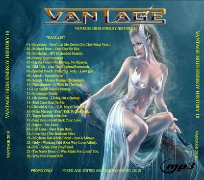 Vantage Mix - High Energy History Mix 10