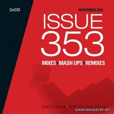VA - [Mastermix] Issue 353 November 2015 / 2xCD