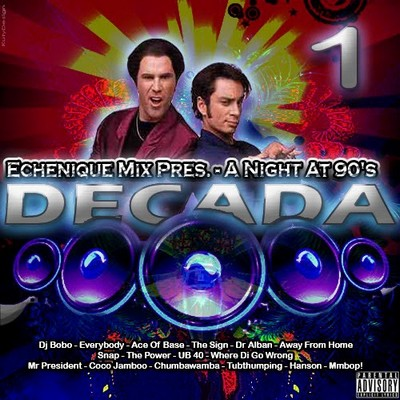 DJ Echenique - A Night At 90's Decada Mix 01