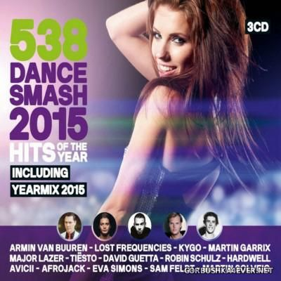 538 Dance Smash Hits Of The Year 2015 / 3xCD