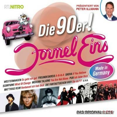 Formel Eins - Die 90er! Made in Germany [2015] / 2xCD