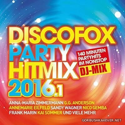 Discofox Party Hitmix 2016.1 [2015] / 2xCD / Mixed by DJ Deep