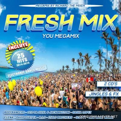 Fresh Mix [2015] / 2xCD / Mixed by Richard The Mixer