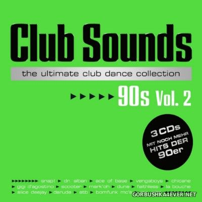 Club Sounds 90s vol 2 [2016] / 3xCD