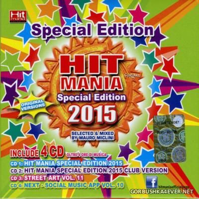 Hit Mania Special Edition 2015 / 4xCD / Mixed by Mauro Miclini