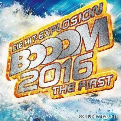 Die Hit-Explosion - Booom 2016 - The First [2015] / 2xCD
